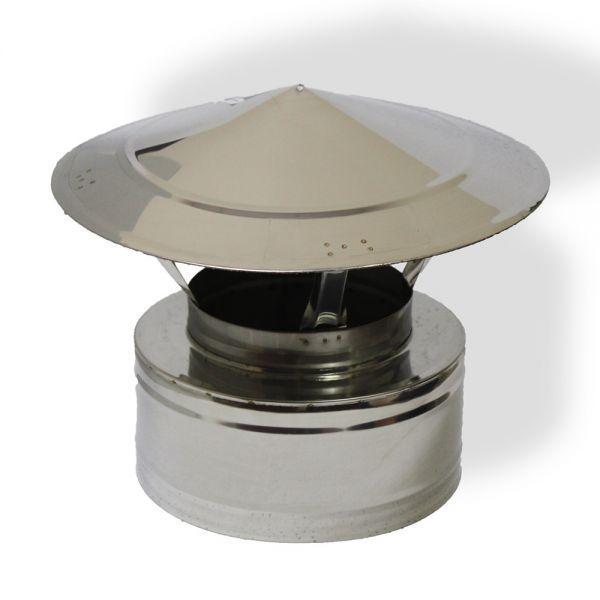 Грибок дымоходный ø 150/220 н/н 0,6 мм