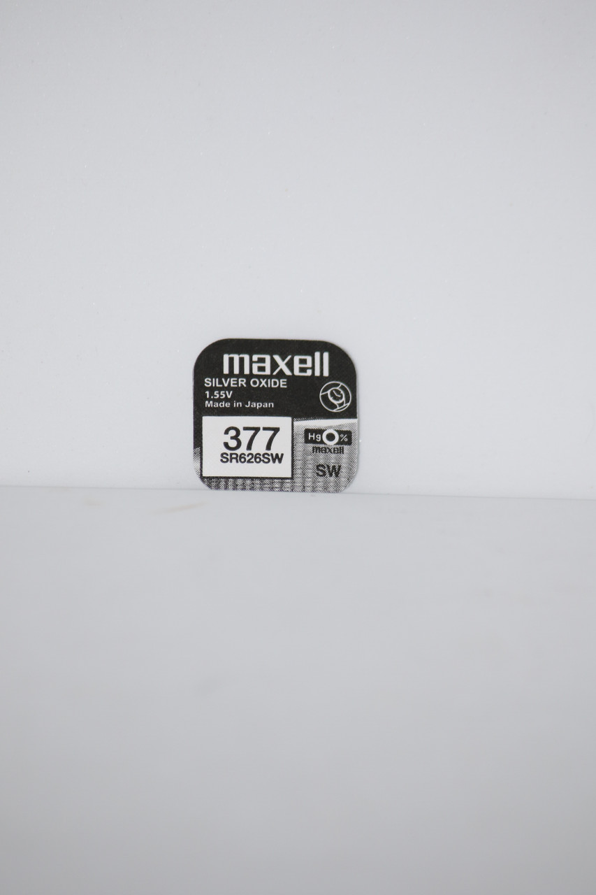 Часовая батарейка Maxell SR626SW  1PC  EU (377)
