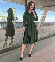 Платье хаки, арт.1022