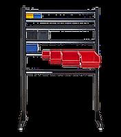 Стійка Н1500мм пристінна одностороння для стелажа метизного