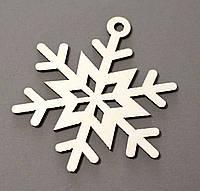 Новорічна іграшка сніжинка М