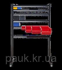 Стійка пристінна Н1800мм на регульованих опорах  одностороння