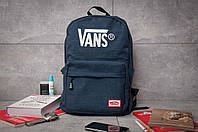 Рюкзак унисекс Vans , синий (90001),  [ 1  ]