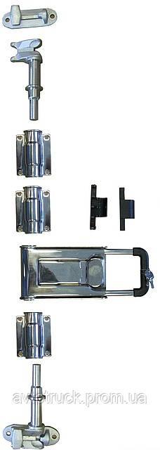 Воротная фурнитура, Запор для ворот нержавеющая сталь
