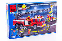 Конструктор Пожарная техника Brick-908, фото 1