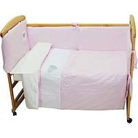 Детский постельный комплект Nino Cuoricini Pink