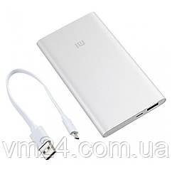 Внешний аккумулятор Xiaomi Mi Power Bank 2 5000mAh Silver (VXN4226CN) Оригинал
