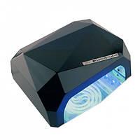 Лампагибрид кристалл CCFL+ LED UV 36W - черная