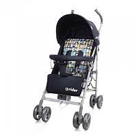 *Коляска - трость прогулочная Детская Дитяча Коляска TM BabyCare Rider Grey в льне арт. 0002