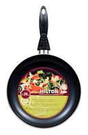 Сковородка Hilton FP 2606 d26см без крышки черная (2,5мм)