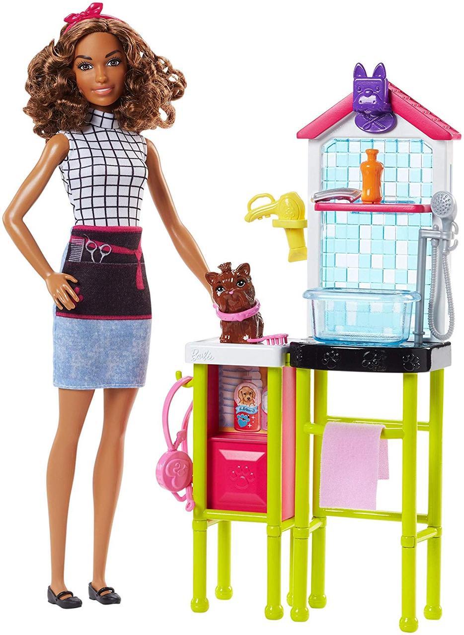 Лялька Barbie Салон для вихованців Pet Groomer