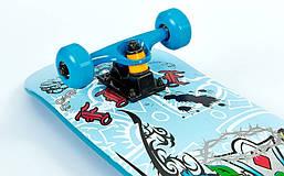 Скейтборд синий SK-5615 , фото 2