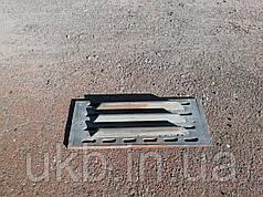 Колосник чугунный 525*220 мм (17,5кг) / Колосник чавунний 525*220 мм (17,5кг)