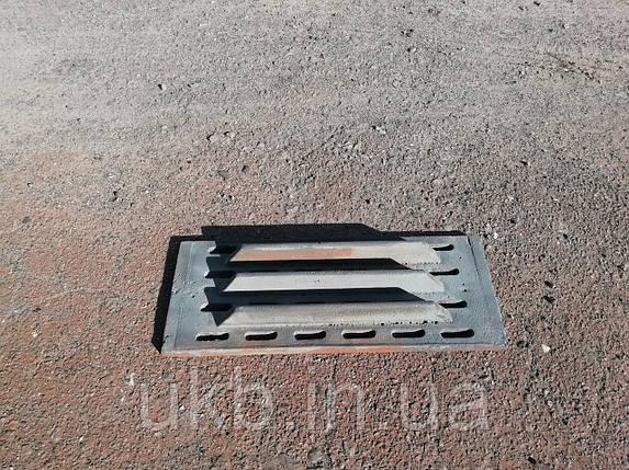 Колосник чугунный 525*220 мм (17,5кг) / Колосник чавунний 525*220 мм (17,5кг), фото 2