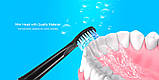 Сменные насадки для ультразвуковой зубной щетки Alfawise SG - 949 , 5 штук, фото 6