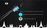 Сменные насадки для ультразвуковой зубной щетки Alfawise SG - 949 , 5 штук, фото 9