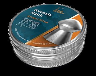 Пули для пневматики H&N Baracuda Match 0.69 гр 4.5 мм (400 шт)