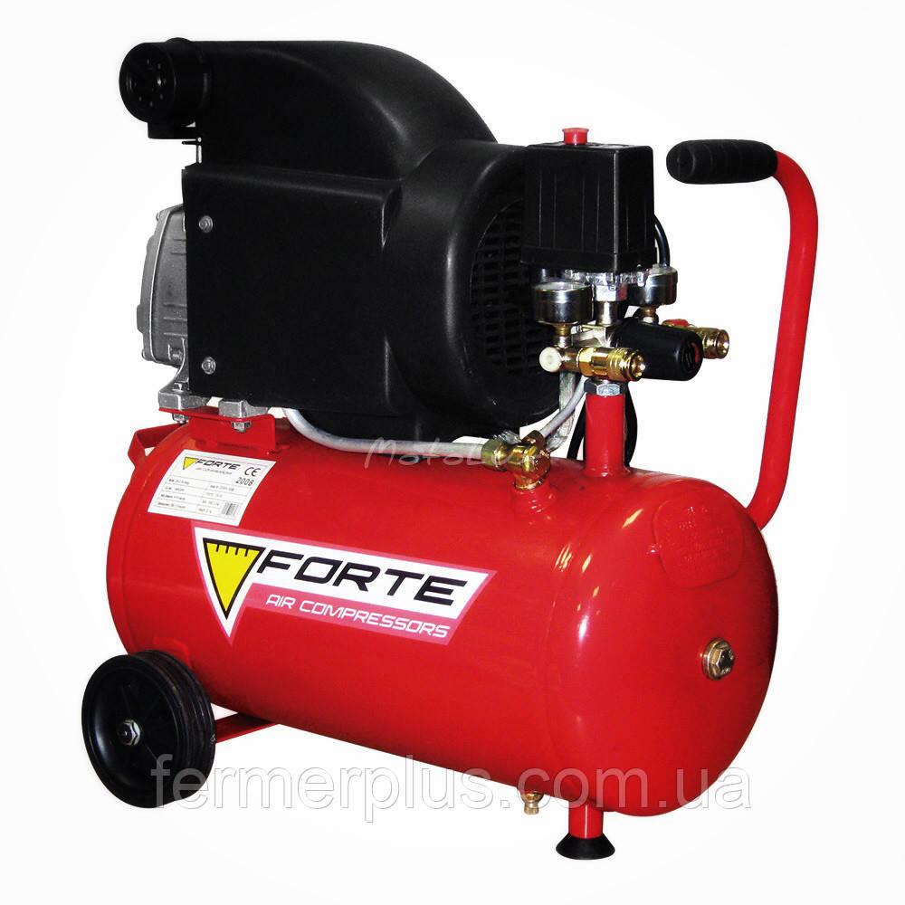 Компрессор воздушный поршневой Forte FL-24 + доставка