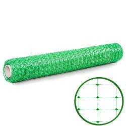 Сетка пластиковая универсальная (1,5мх100м)  30*35 зеленая
