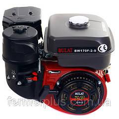 Двигатель бензиновый BULAT BW170F2-S NEW (7,0 л.с., шпонка Ø20мм, L=61мм)