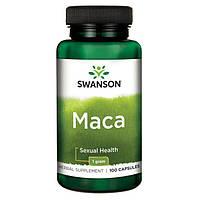 Мака Корень, Мака Перуанская, 500 мг 100 капсул , фото 1