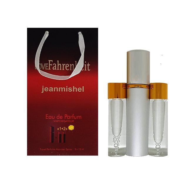 Мужской мини-парфюм Jeanmishel Love Fahrenheit (3 по 15 мл ) № 24