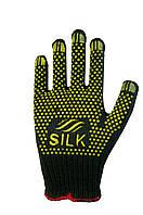 Трикотажні рукавиці з ПВХ Silk 1700
