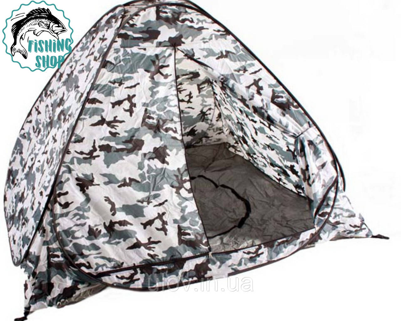 Палатка зима-лето  2*2, белый камуфляж