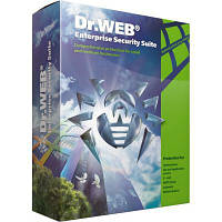 Антивирус Dr. Web Mail Security Suite + Антивирус + ЦУ + Антиспам 5 ПК 1 год ( (LBP-AAC-12M-5-A3)