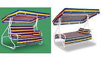 Раскладной диван-качели «Люкс-2» (4 места)