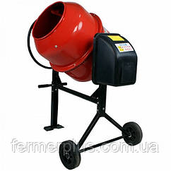 Бетономешалка FORTE EW2125P (550 Вт, обьём барабана 125 л, готовая смесь 95 л) + доставка