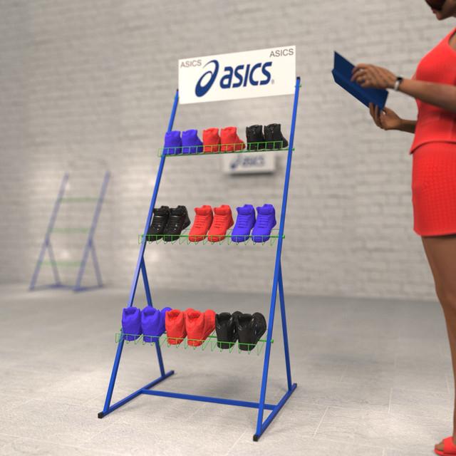 торговые стойки для обуви