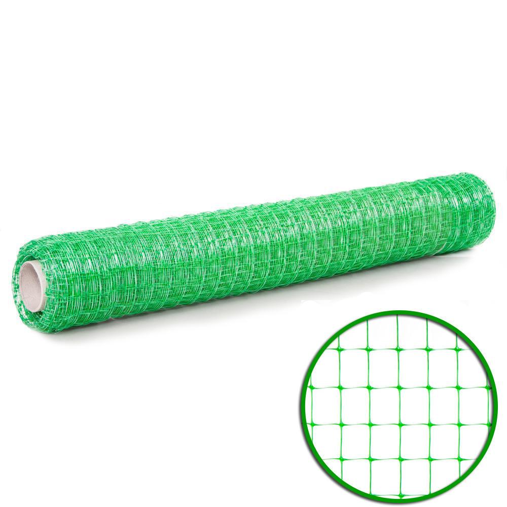 Сетка пластиковая универсальная (0,5мх100м) 12*14 зеленая