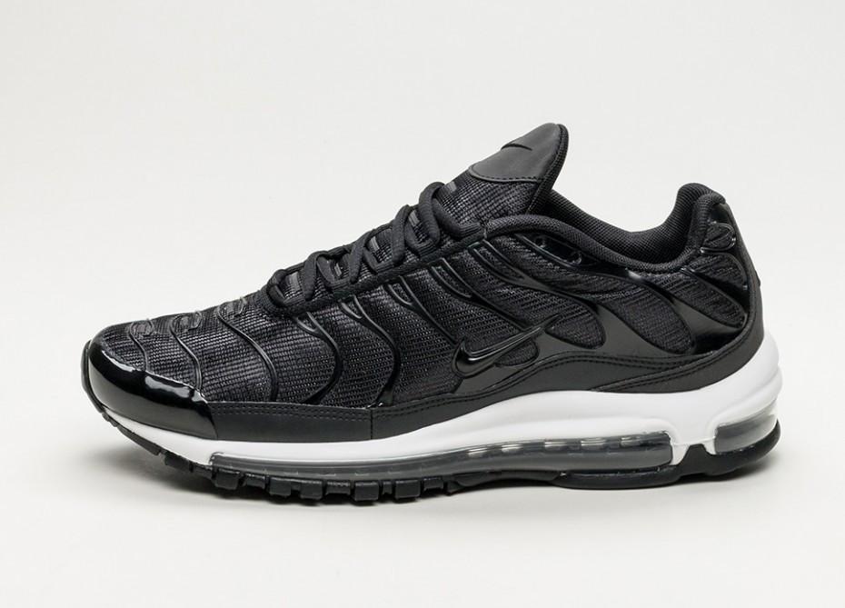 "Кроссовки Nike Lab Air Max 97 Plus ""Black/Anthracite White"" (Черные/Белые)"