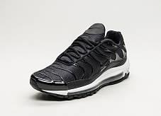 "Кроссовки Nike Lab Air Max 97 Plus ""Black/Anthracite White"" (Черные/Белые), фото 2"