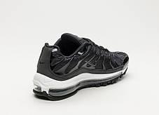 "Кроссовки Nike Lab Air Max 97 Plus ""Black/Anthracite White"" (Черные/Белые), фото 3"