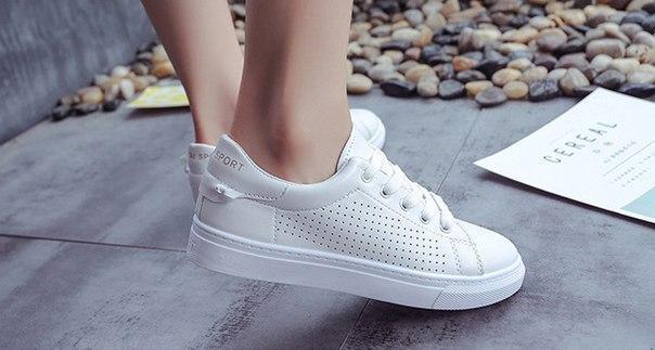 425753a9 Заказать Белые кроссовки для девушек за доступной ценой дешево ...