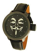 Годинники NewDay наручні чоловічі дизайнерські Guy Fawkes Mask