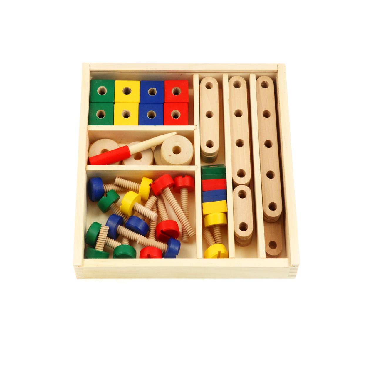 Дерев'яний конструктор Viga Toys 50490VG