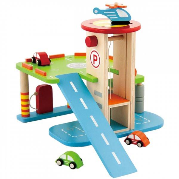 Ігровий набір Viga Toys Гараж 59963VG