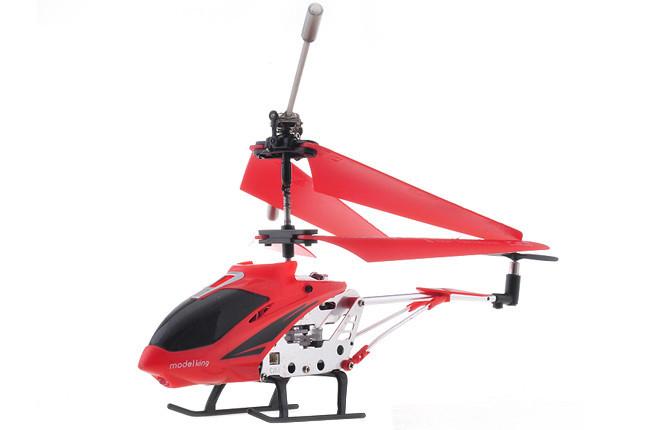 Детская игрушка Вертолет радиоуправляемый 33008 Model King Красный