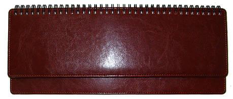 Планинг недатированный BRISK OFFICE ЗВ-74 SARIF (10,2 х 32,5) красно-коричневый, фото 2