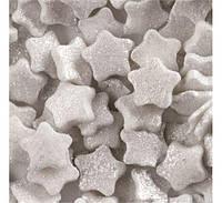 Конфетти сахарные звездочки белые