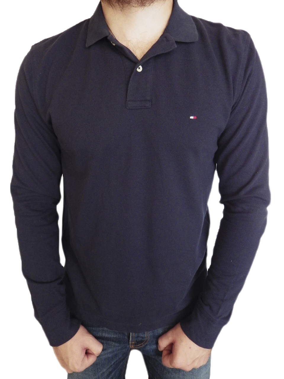 Лонгслив Tommy Hilfiger р-р M Оригинал (сток, б/у) мужской свитер кофта original