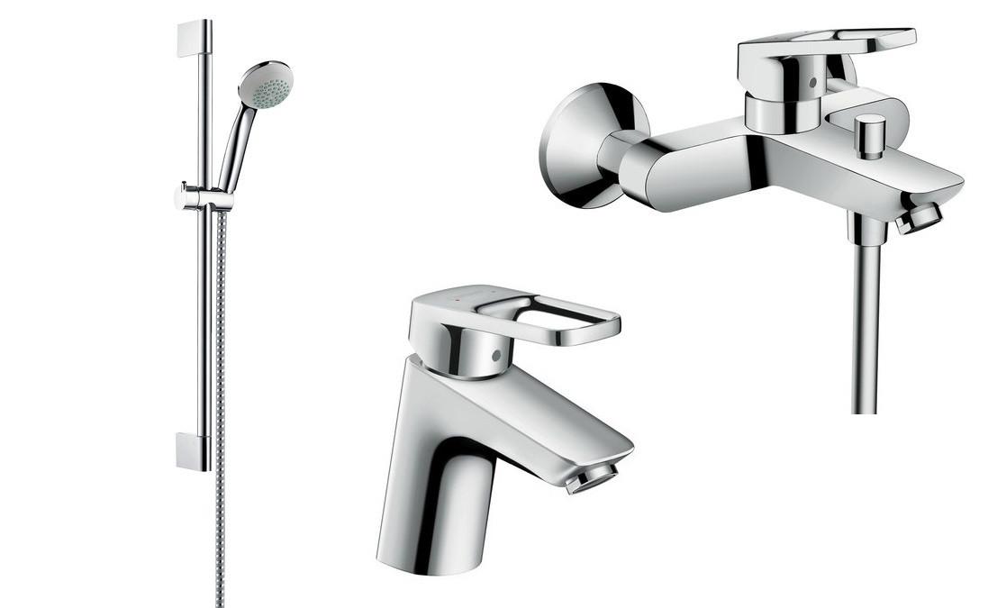 Набор смесителей для ванны Hansgrohe LOGIS LOOP