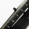 Для пирсинга ушей конусная растяжка (диаметр 1.6 мм). Прозрачный акрил (светиться в темноте). Цена за 1шт.