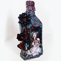 "Декор для Хэллоуина Аксессуар для праздника - бутылка ""Кровавая Мэри"""