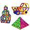 Магнитный конструктор Leqi-Toys 40 деталей, фото 5