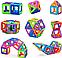 Магнитный конструктор Leqi-Toys 40 деталей, фото 7