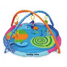 Развивающий коврик с дугами Baby Mix Морской конек
